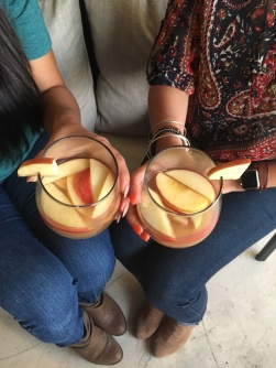 Cheers to sangria